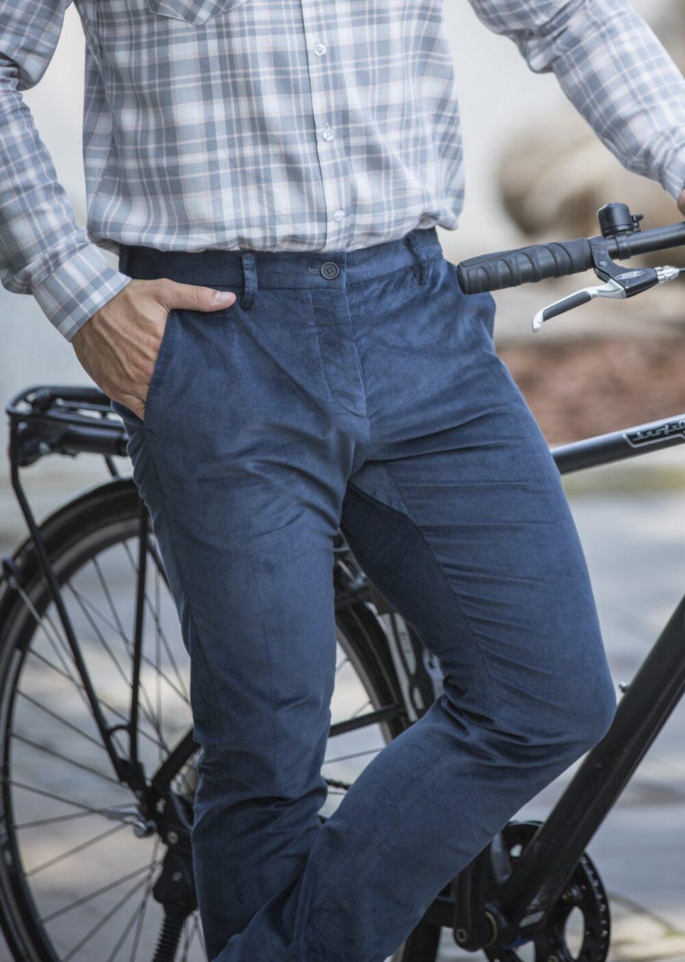 Fahrrad Chino aus Bio Feincord von Jürgen Brand