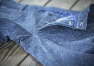 Jeans aus Bio-Baumwolle und Bio-Leinen