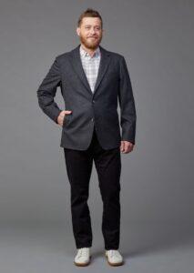 Herrensakko aus Merinoloden von Jürgen Brand Fair Fashion