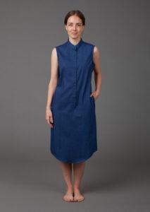 Sommerkleid aus Biobaumwolle