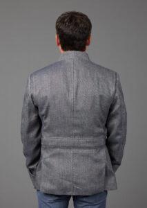 Herren Jacke aus Bio-Leinen und Bio-Baumwolle